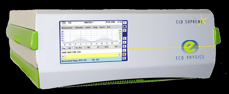 Equipo CLD 800, para medición de NO, .Nox