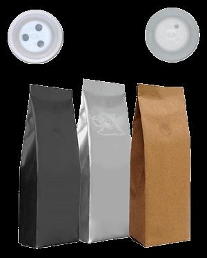 Válvulas desgasificadoras para café